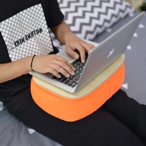 御目 电脑桌 现代简约家用软垫托盘桌懒人膝盖床上笔记本电脑桌靠垫平板桌子家具用品
