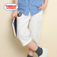 【直降】托马斯正版童装男童夏装轻薄休闲纯棉短裤七分裤舒适透气
