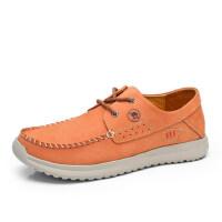 骆驼牌男鞋 春季新款日常休闲鞋轻便舒适系带低帮鞋男鞋子