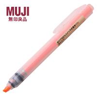 MUJI无印良品荧光笔 按动按制荧光笔 5色 韩国制 聚丙烯点式 水性 PP管荧光笔/记号笔