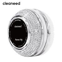 cleaneed 洁面仪 硅胶电动毛孔清洁去黑头美容按摩洗脸仪 钻石水晶镶钻闪耀系列高端款 白天鹅