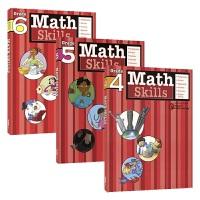 Harcourt Family Learning - Math Skills Grade 4-6 哈考特家庭辅导数学专项