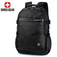 SWISSGEAR瑞士军刀双肩背包 男女商务笔记本电脑包15.6英寸 防泼水面料休闲书包