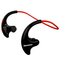 运动蓝牙耳机无线头戴式跑步女mp3插卡双耳耳塞入耳脑后挂耳式苹果一体式健身男 标配