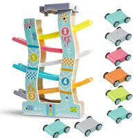 儿童玩具车滑翔轨道小汽车回力惯性女孩宝宝男孩益智
