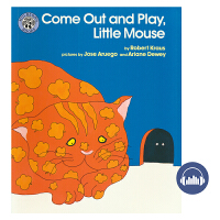 Come Out and Play, Little Mouse 小老鼠智斗大肥猫 出来玩呀小老鼠 英文绘本 儿童英文原