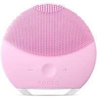 美国直邮 FOREO斐珞尔 Luna Mini2 露娜电动洁面仪 毛孔清洁电子美容仪 硅胶清洁器洗脸刷 粉红色 海外购