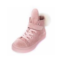 童鞋百搭男童加绒板鞋冬季宝宝鞋女童运动鞋
