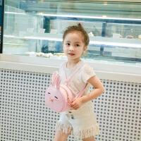 2017新款儿童小背包公主单肩包 女童斜跨包 萌兔子小孩可爱双肩包