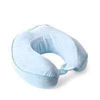 u型枕护颈枕孕妇出差旅行午睡记忆棉u型枕头