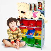 大号木制蓝色草莓粉色男款玩具收纳盒整理箱玩具收纳架2款