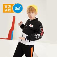 【新春到手价:149.5】361度童装 男童外套2020春季新品中大童圆领运动外套上衣 N52013601