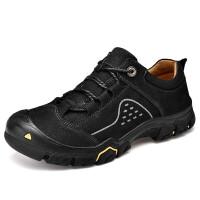 户外男士运动户外鞋夏季登山鞋休闲徒步鞋防滑耐磨旅游鞋子