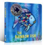 英文进口原版 The Rainbow Fish 彩虹鱼纸板书 1993年凯特格林纳威奖 儿童情绪管理绘本 3-6岁亲子