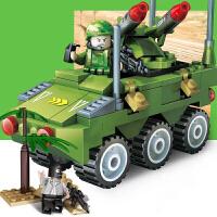 古迪 积木 火线争锋军事塑料拼装拼插男孩女孩礼物6岁以上亲子互动拼搭游戏儿童玩具用品