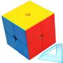 三阶魔方二四五阶魔方套装顺滑速拧儿童学生益智玩具专业比赛专用