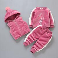 童装男童冬装1-3岁宝宝婴儿童三件套