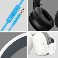 手机耳机带麦 电脑耳机头戴式带话筒 线控通话游戏语音重低音