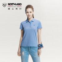 【过年不打烊】诺诗兰春夏户外女式运动休闲潮流POLO衫短袖T恤 GL072220