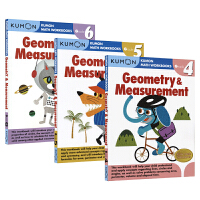 Kumon Math Workbooks Geometry & Measurement Grade 4 5 6 公文式