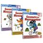 【预售】Kumon Math Workbooks Geometry & Measurement Grade 4 5 6 公文式教育 小学四五六年级教辅练习册 几何 测量 儿童英文原版进口图书