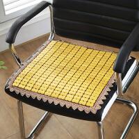 麻将凉席坐垫夏季办公室电脑椅垫夏天餐椅凳子竹子垫汽车座垫透气