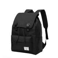 男生书包大学生高中生潮流男士背包潮双肩包笔记本电脑包户外健身包usb充电书包 17寸