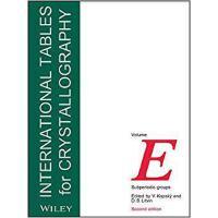 【预订】International Tables for Crystallography Vol E - Subperi