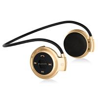 携头戴挂耳式手机蓝牙耳麦带话筒插卡运动跑步防掉无线耳机