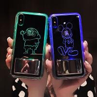 来电闪会发光苹果8plus手机壳iphone7网红套6splus硅胶新款7p潮i6