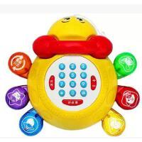 美贝乐超可爱儿童宝宝玩具电话 会讲故事音乐早教电话机启蒙益智