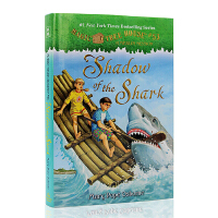 进口英文原版 Magic Tree House #53 Shadow of the Shark神奇树屋第53本 精装版