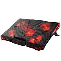 笔记本冷却器 散热器底座15.6寸雷神惠普电脑支架板风扇架子17.3水冷却外置底部 游戏版 (220V电源供电)