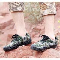 男鞋 作训鞋 军训迷彩鞋军鞋劳保解放胶鞋男07作训鞋 户外劳保帆布鞋