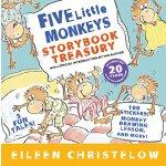 五只小猴子 英文原版童书 Five Little Monkeys Storybook Treasury 5个故事精装合