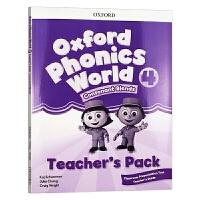 Oxford Phonics World Level 4 Teacher's Pack 新版 牛津自然拼读教材教师书4