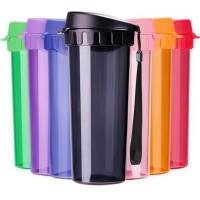 特百惠水杯茶韵随手杯子便携防漏塑料大容量男女学生儿童运动茶杯500ML