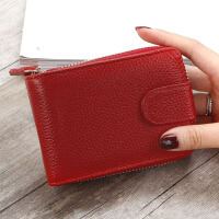 男士驾驶证卡包韩版拉链风琴女式钱包多功能行驶证套