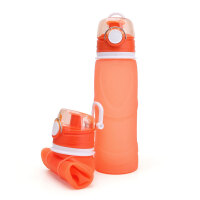【好货优选】硅胶伸缩水壶 可折叠折叠户外运动大容量便携骑行登山饮水水杯可野营