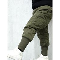 儿童男棉裤男童冬季裤子宝宝保暖裤