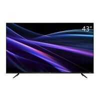 TCL 43P6 43英寸4K金属超窄边 64位32核HDR人工智能LED 液晶电视机