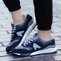 【领券立减100】Q-AND/奇安达男鞋复古时尚高弹减震运动休闲慢跑鞋