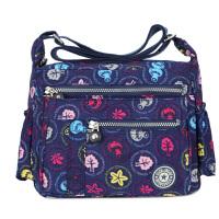 帆布女士包包单肩斜挎包休闲大容量旅行包新款妈妈包