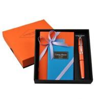 Campo Marzio签字笔 纯色商务学生进口经典笔 意大利 中号彩虹本 1本 小号彩虹本 1本 礼盒套装