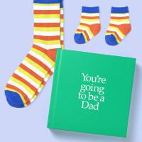 英文原版 你要当爸爸了 礼品书 送两双袜子 亲子 新生儿礼物 YGBDAD You're Going to be a