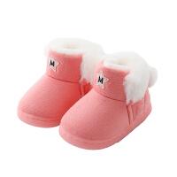 儿童棉鞋冬季男童加绒宝宝1-3岁女童冬鞋棉鞋