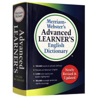 正版 韦氏高阶英语词典 英文原版 Merriam Webster's Advanced Learner's Engli