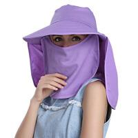 夏季骑车防晒帽子电动车遮阳帽大沿遮脸太阳帽女夏天青年