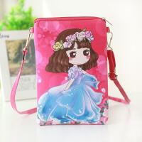 韩版儿童斜挎包可爱迷你男童女孩单肩包幼儿园宝宝 学生手机包