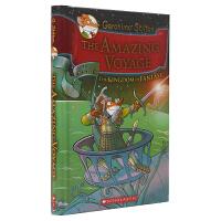 Geronimo Stilton The Amazing Voyage 老鼠记者幻想王国系列英文桥梁书 航海之旅 儿童
